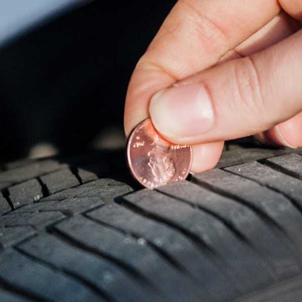 Tire Tread Penny Test